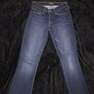 Lucky Brand Jeans Sofia Boot size 2 26 Blue Jeans